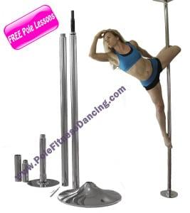 Professional Quality Portable Pole Dancing Pole for home AKA Stripper Pole