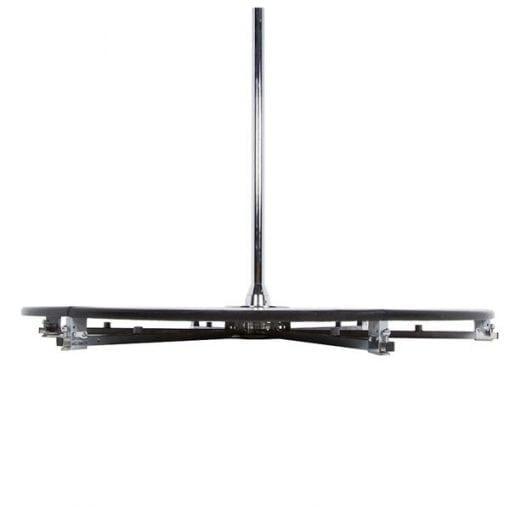 X Pole X Stage Lite fresstanding portable dance pole base side view