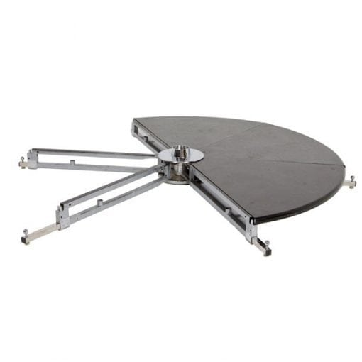 X Pole X Stage Lite metal base with part of plates for freestanding dance pole