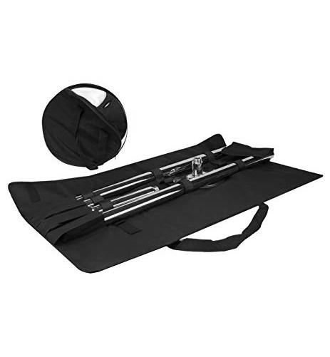 chrome dance pole carrying case bag for portable dance pole