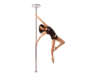 girl dancing on an x pert x pole