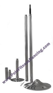 Stippers poles for pole dancing at home