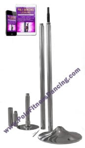professional portable removable pole dancing pole kit with video lessons