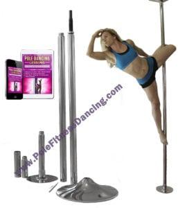 professional grade portable removable pole dancing pole kit