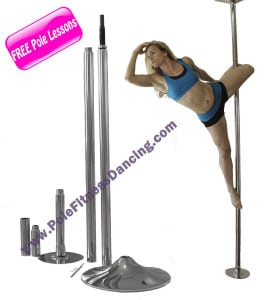 professional quality portable pole dancing pole for home use