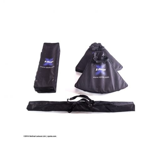 x pole x stage portable carrying bags for X Stage Lite Standard base and dance pole parts