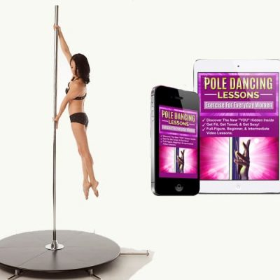 X Stage Lite X Pole dancing pole with base and video lessons