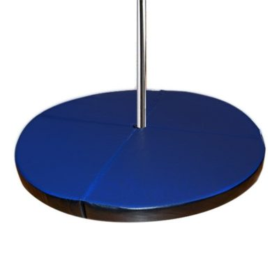 round folding pole dancing crash mat 5x2