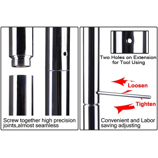 pole extension instructions
