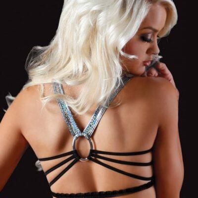 drama queen pole dancing bra top back view