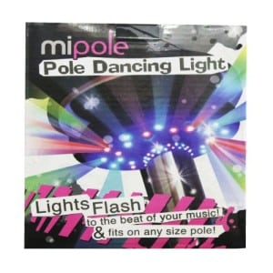 mipole lights for pole dancing pole