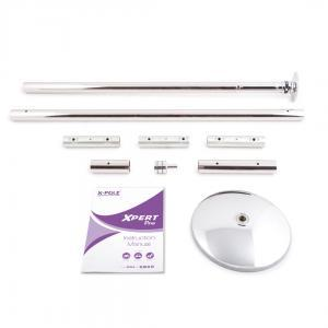 X-Pole XPert Pro PX model stainless steel dance stripper pole kit portable spinning static home