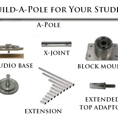 competition grade studio pole dancing poles X Pole
