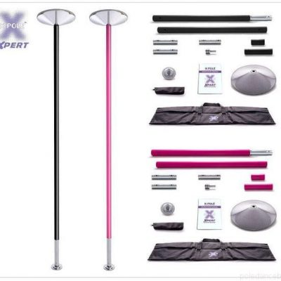 XPert Xpole 53mm silicone pole dancing pole in pink or black