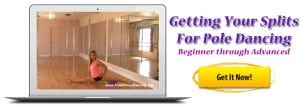 getting your splits for beginner to advanced pole dancing online lessons