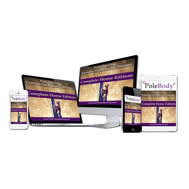 PoleBody Complete Home Edition Pole Dancing Lessons Videos