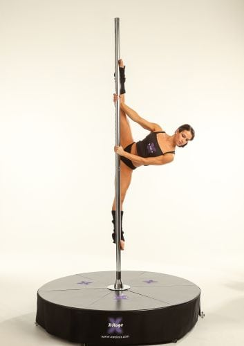 how to pole dance without a pole