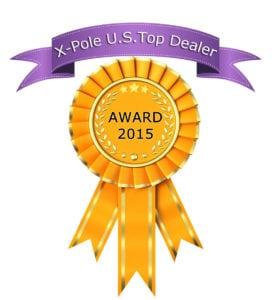 x-pole top dealer award 2015