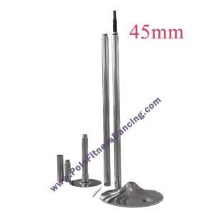 45mm size dance poles