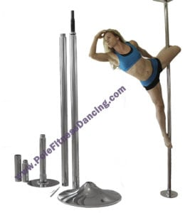 spinning pole dancing poles