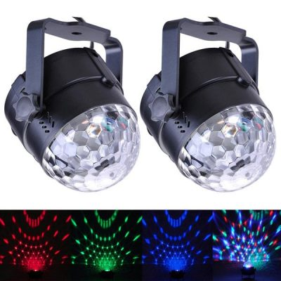 2-set LED stage lights for pole dancing