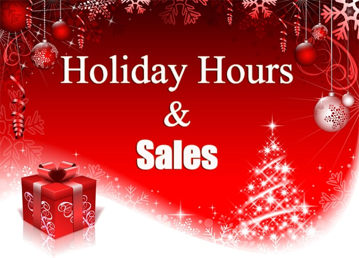 black friday sales and office hours