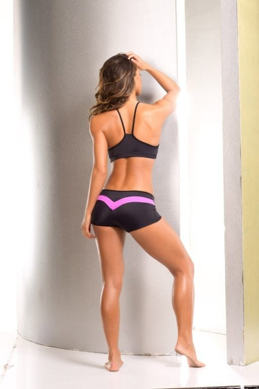 Dragonfly Gypsy Bodyzone shorts and bra top for fitness