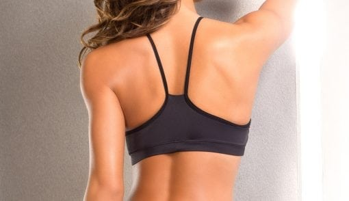 Dragonfly Gypsy pink bra top Bodyzone fitness