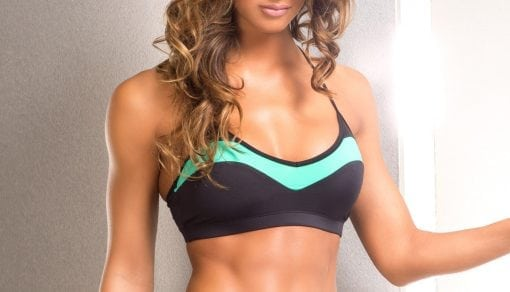 Dragonfly Mint Bra Top Bodyzone fitness