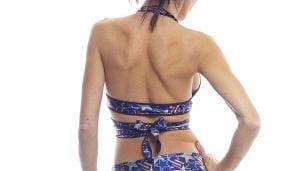 bodyzone spangled stars savage wrap top back view