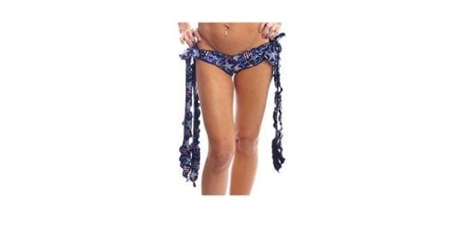 spangled stars tie side ribbon shorts for pole dancing workout clothes bodyzone