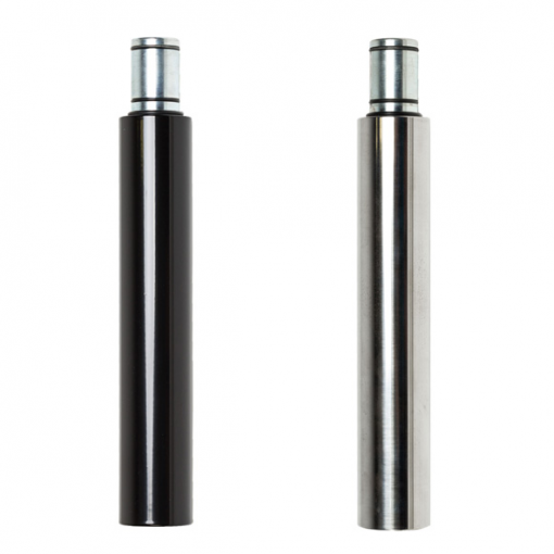 G2- extension stainless steel chrome black powder coated variations 500mm Lupit Classic Diamond dance pole home