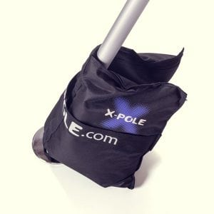 X Pole A Frame Aerial Fitness legs with sand bags