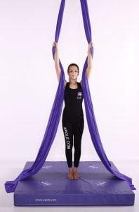 X Pole Purple aerial silks