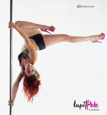 Lupit classic dance pole 45mm stainless steel
