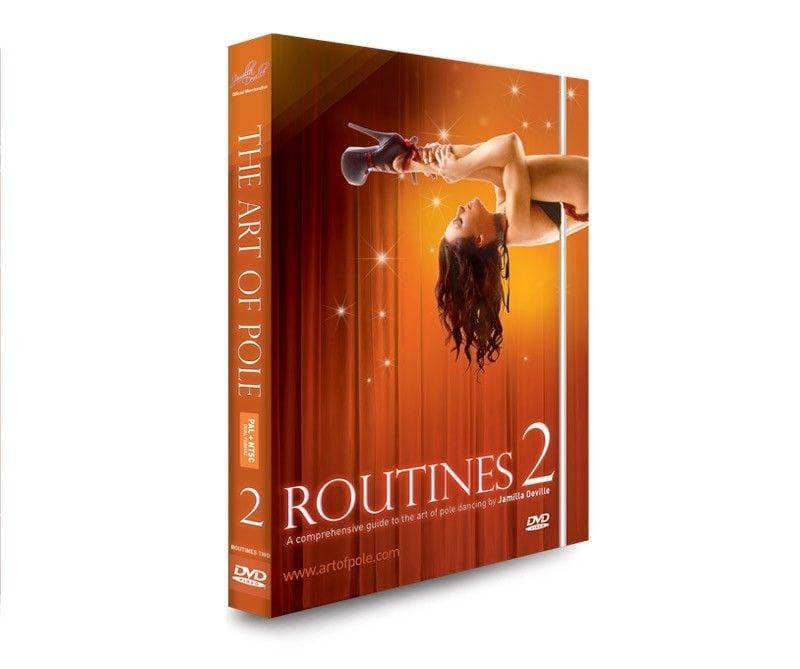 art of pole jamilla deville routines 2 dvd
