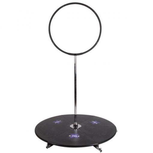 Lyrapole Lollipop X Pole Stage aerial equipment Hoop