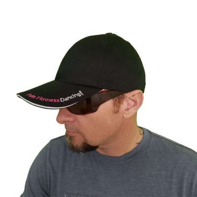 pole dance fitness clothing ball cap hat black