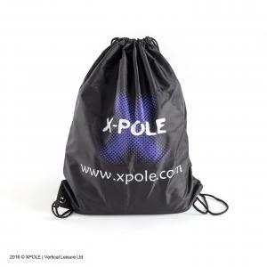 X Pole aerial hammock portable black bag for silks