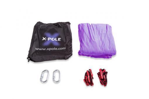 X-Pole yoga hammock connector kit purple fitness
