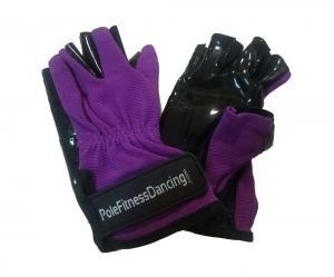 purple tacky grip gloves aerial pole dancing mighty grip