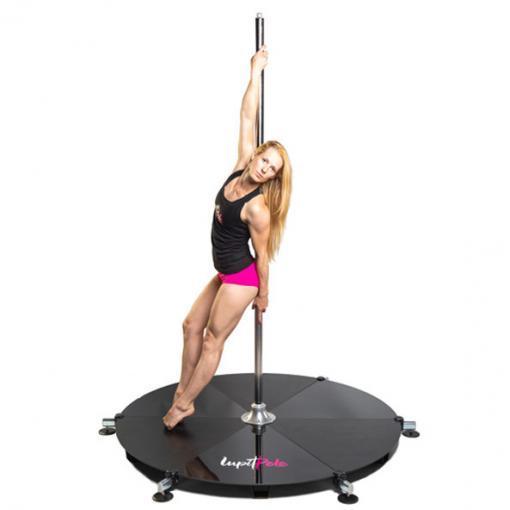 Lupit freestanding portable stage base platform dance pole dancing short legs