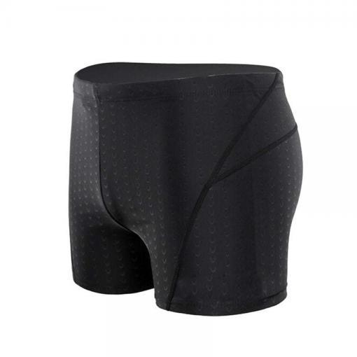 Men-Pole-Dance-Fitness-Workout-Water-Repellent-Sharkskin-Boxer-Spandex-Shorts-Black-Adult-