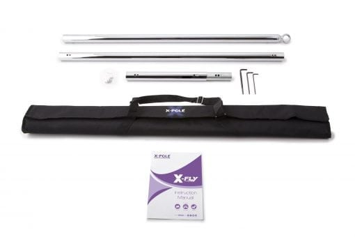 X-FLY-Pro-45mm-chrome flying pole dancing pole for home