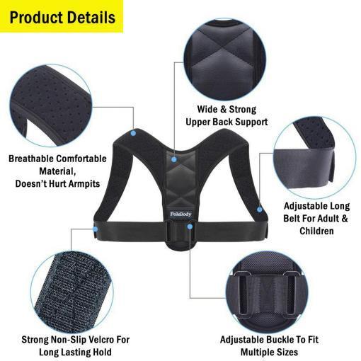 Medical-Clavicle-Posture-Corrector-Adult-Children- Upper Back-Support-Belt-Corset-Orthopedic-Brace-Shoulder-Correct
