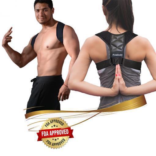 mens women upper back posture corrector brace kids children bad hunching slouching pain relief main