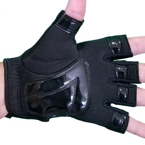 Partial Tack GLoves black pole dance dancing grip workout fitness tacky palm surface