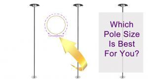 how to choose the right dance pole size for you 45mm 40mm 50mm