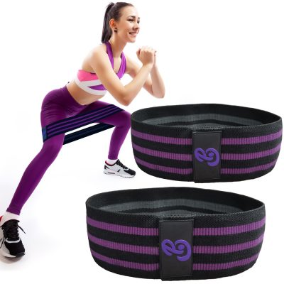 PoleBody Fabric hip bands for butt legs glute elastic resistance circle hoop workout fitness exercise