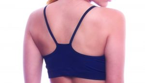 red fire dragonfly bra top black bodyzone back